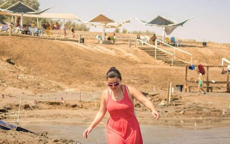 de dode zee in Israel