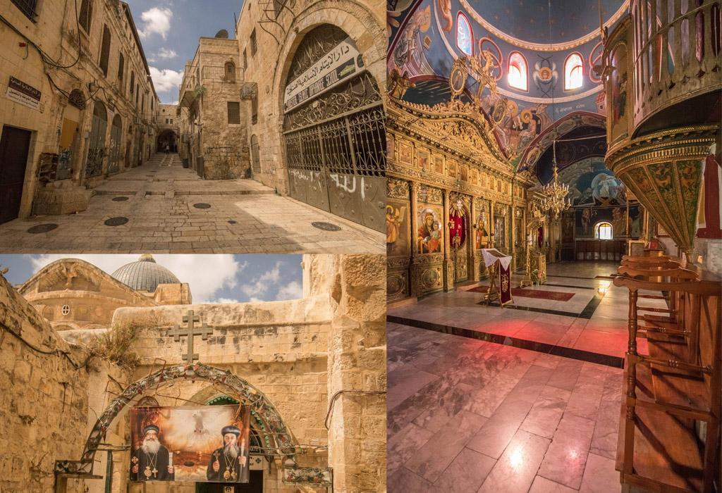 Verspreid over Jeruzalem liggen Joodse, Christelijke, Armeense en Islamitische gedenkplaatsen en religieuze monumenten.