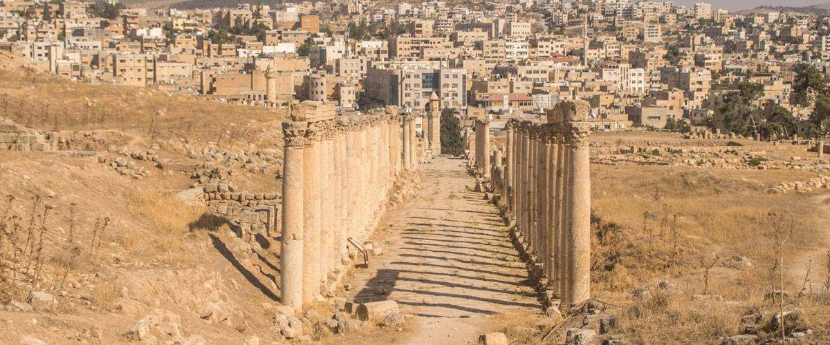 Jerrash is een van de best bewaarde oud-Romeinse steden ter wereld! Prachtig om te bezichtigen.