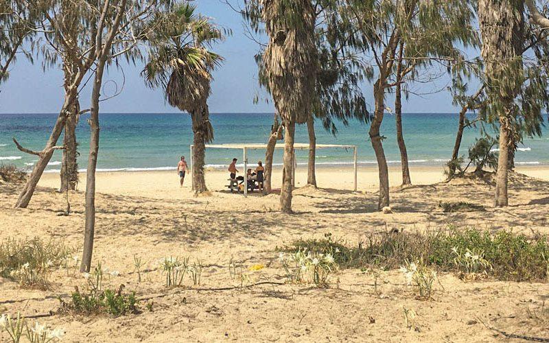 Kibbutz strand