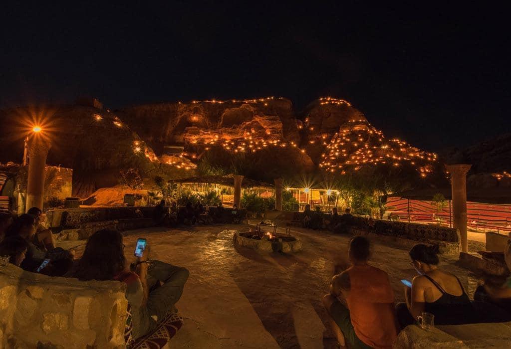 Het 'Seven Wonders Bedoin Camp' in Jordanië.