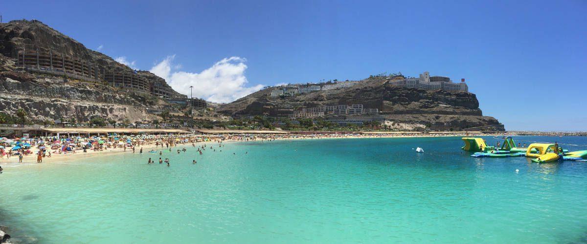 Amadores Beach Gran Canaria.