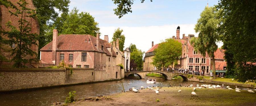 Net buiten de kleine binnenstad vind je nog heel wat oases van rust in Brugge.