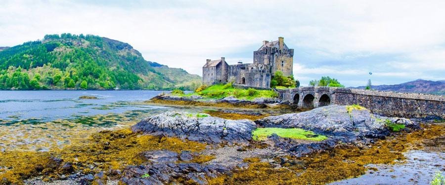Het Eilean Donan kasteel. Waarschijnlijk een van de bekendste kastelen van het land!