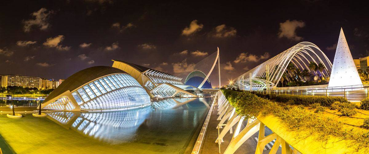 Valencia, de derde grootste stad van Spanje.