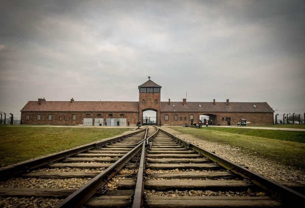 Auschwitz-Birkenau, het grootste van de twee originele kampen.