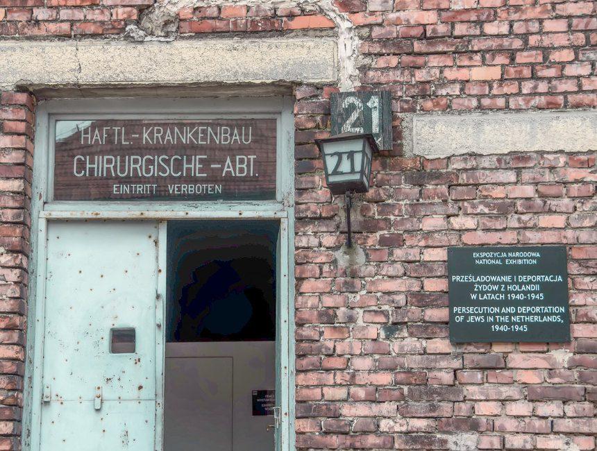 blok 21 concentratiekamp auswitch birkenau