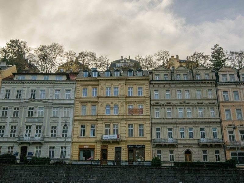 Karlovy vary - Karlsbad, Tsjechië