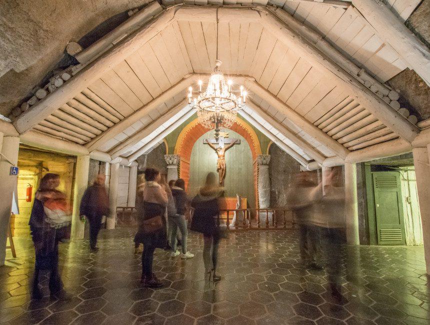 kerk wieliczka zoutmijn krakau kappel