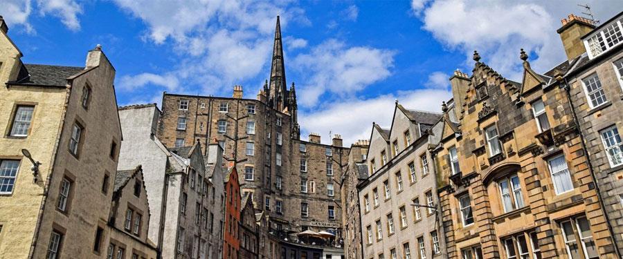 In de straatjes van Edinburgh raak je graag verdwaald!