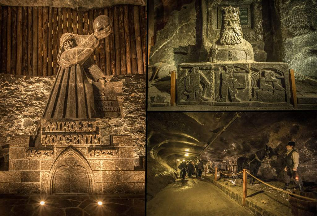 wieliczka zoutmijnen beeldhouwwerken krakau