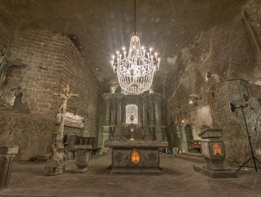 zoutmijn Polen Wieliczka