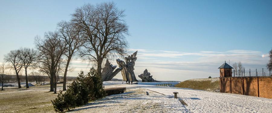 Het IX fort van Kaunas. Een verschrikkelijk stukje geschiedenis onder de Sovjets en de nazi's.