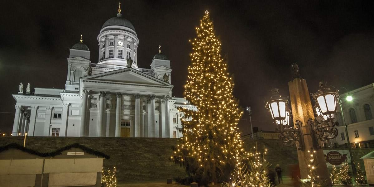 De Kathedraal van Helsinki. Het bekendste bouwwerk van de stad!