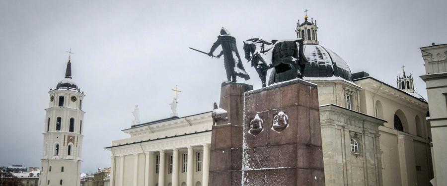 De kathedraal van Vilnius.