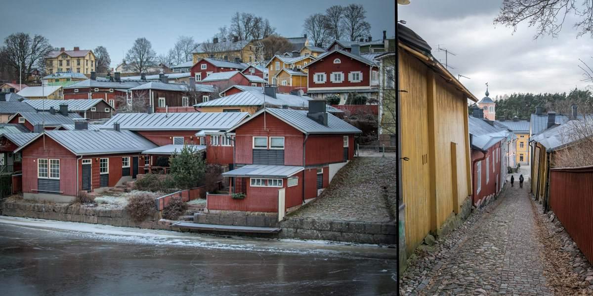 Porvoo ligt op een uurtje van Helsinki en is een leuke daguitstap om enkele uren te vullen!