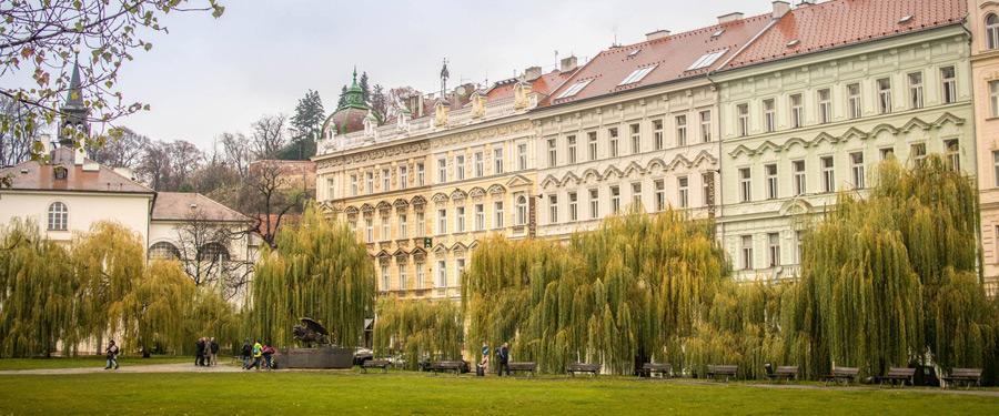 Enkele charmante woningen in de Tsjechische hoofdstad.