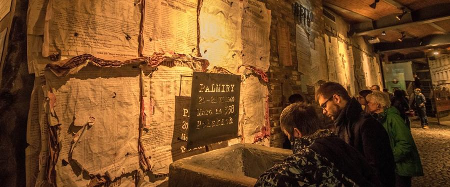 Het 'Warsaw Uprising' Museum (Museum van de opstand van Warschau). Interessant en interactief!
