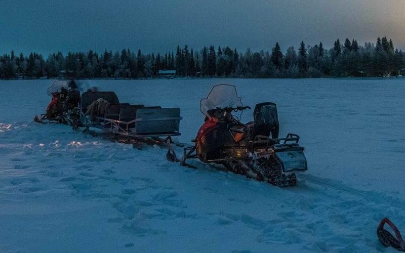 wild nordic snowmobile Rovaniemi