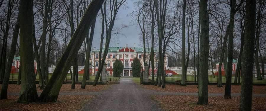 Het Kadriorg paleis van Tallinn.