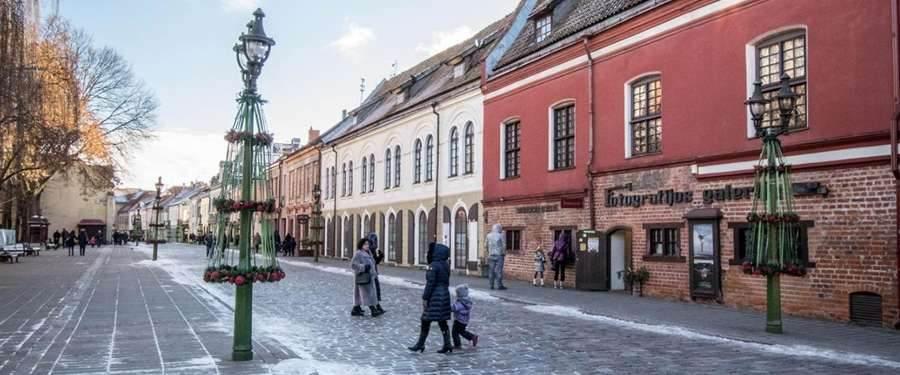 De tweede grootste stad van Vilnius... In mijn ogen niet echt de moeite.
