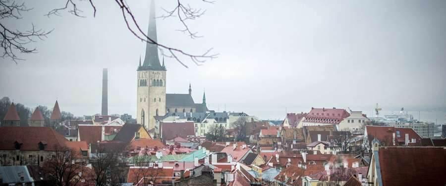 Een mysterieuze mist hangt soms over Tallinn... Maar dat maakt dit feeërieke plekje alleen maar mooier!