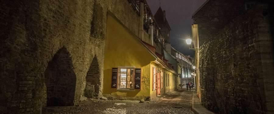 Overal in Estland vind je wel enkele oude stadskernen terug. Mooie gebouwen, gezellige straatjes en heel veel sfeer!