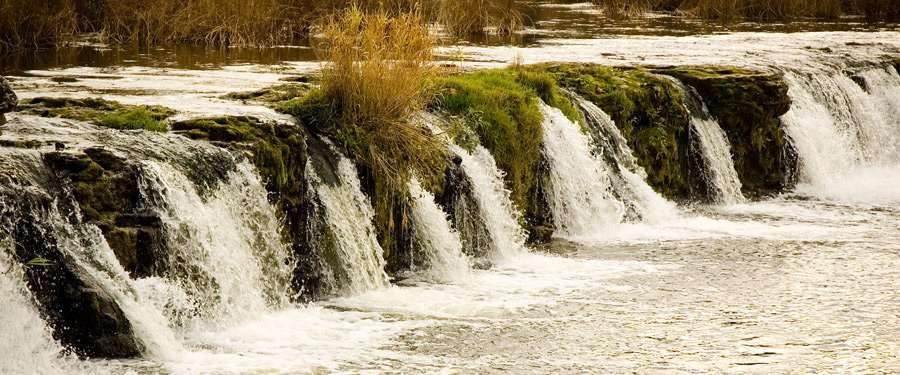 De breedste waterval van Europa ligt in Letland. Met maximaal 270 meter breed is dit een prachtkunstje van Moeder natuur!