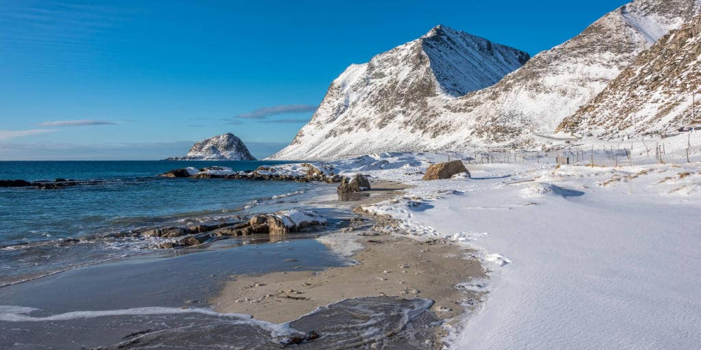 Haukland strand Lofoten