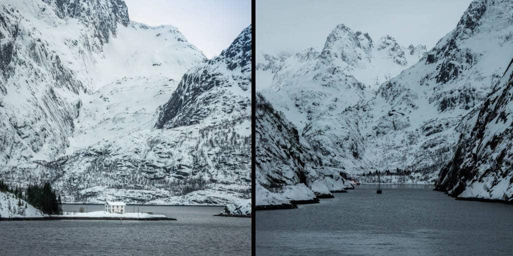 trollfjord noorwegen