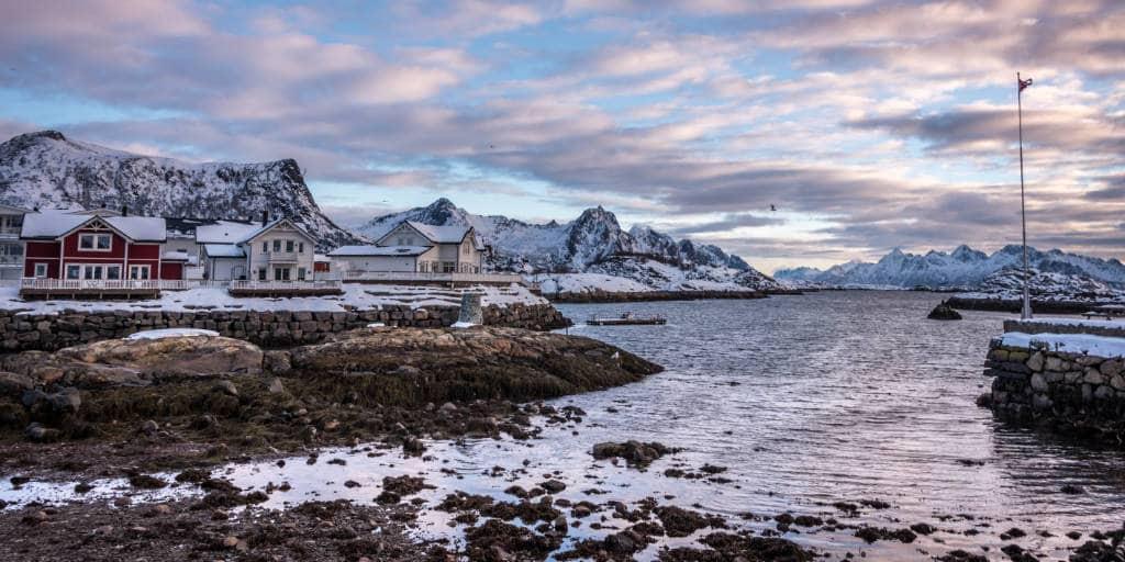 kabelvag lofoten noorwegen