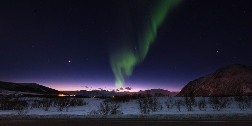 het noorderlicht noorwegen