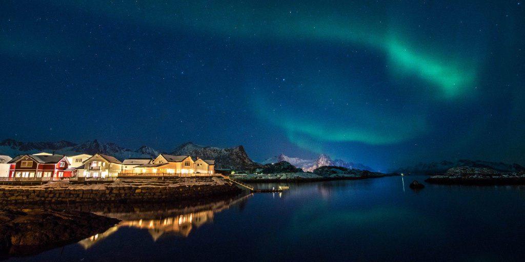 svolvaer noorderlicht noorwegen