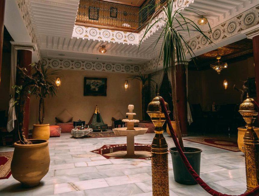 Rondreis Marokko Riad Golf Stinia