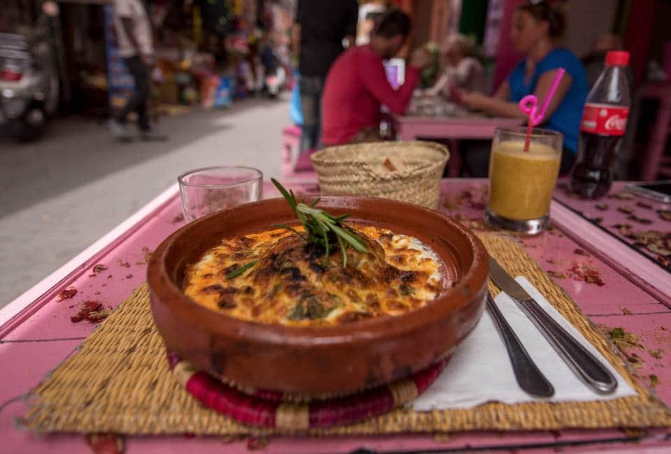 Cantine des Gazelles - Restaurants Marrakech