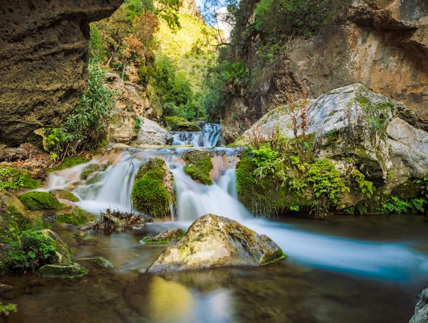 akchour watervallen Chefchaouen