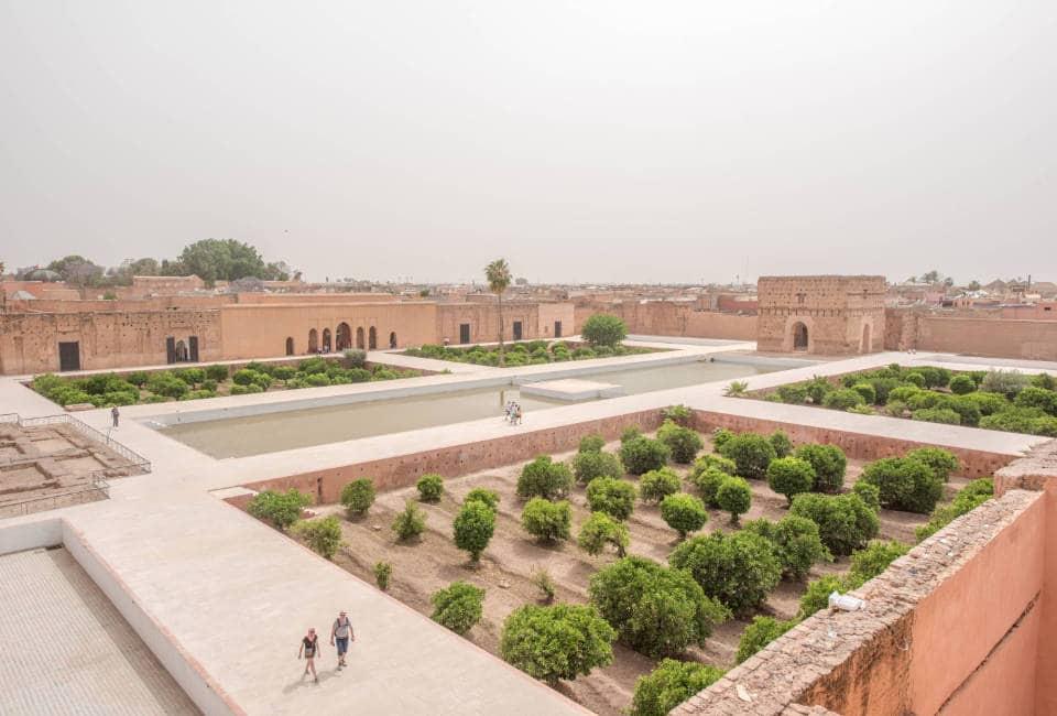 el badi paleis marrakech bezienswaardigheden