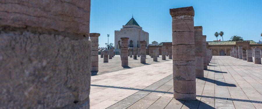 hassan II mausoleum rabat