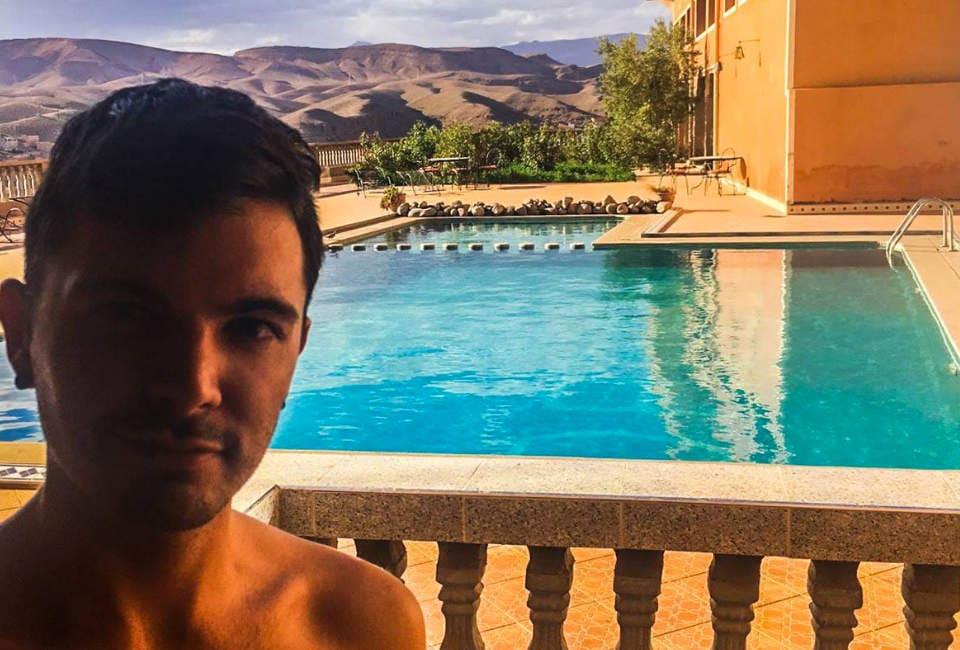 hotel ouarzazate sahara marokko