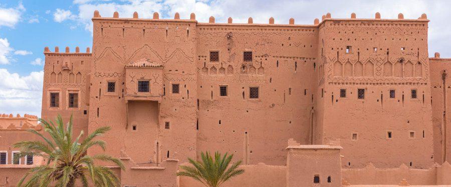 kasbah marokko sahara