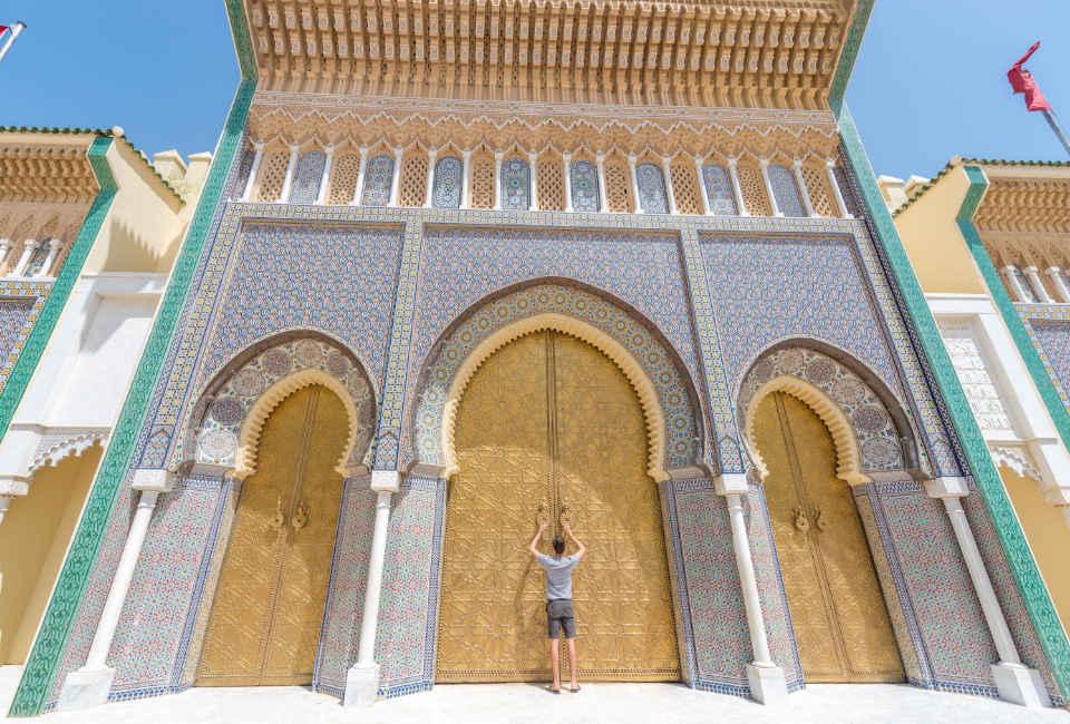koninklijk paleis fes - rondreis marokko