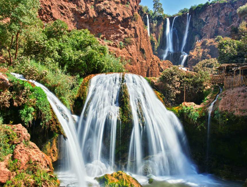 marrakesh bezienswaardigheden ouzoud watervallen cascades d'Ouzoud