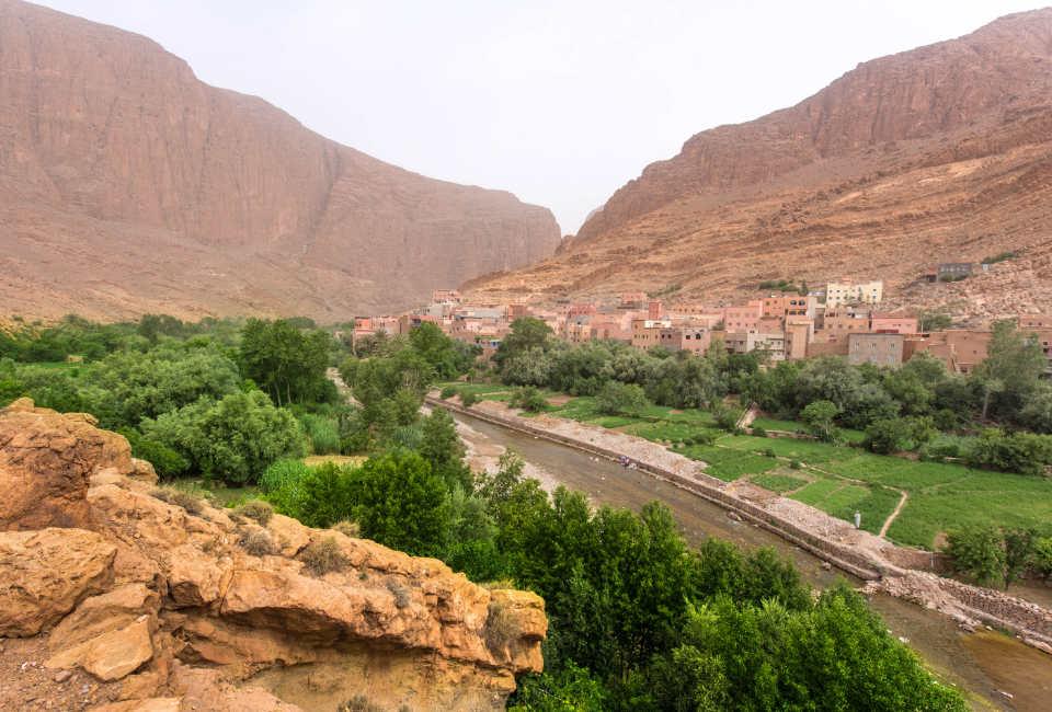 tinghir marokko
