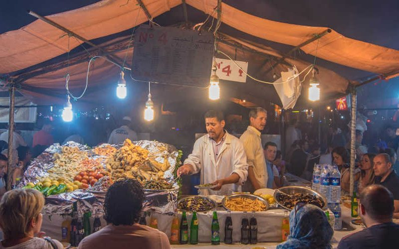 top restaurants in Marrakech