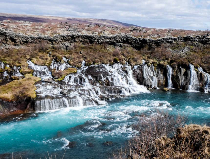 gullfoss waterval ijsland bezienswaardigheden