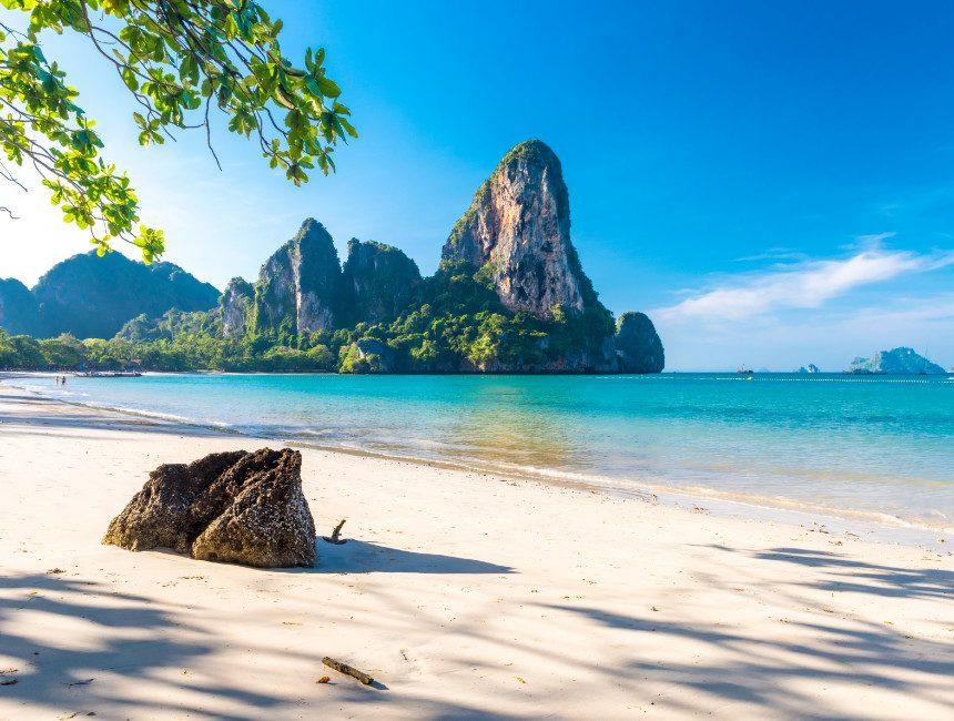 Railay Beach Krabi rondreis Thailand