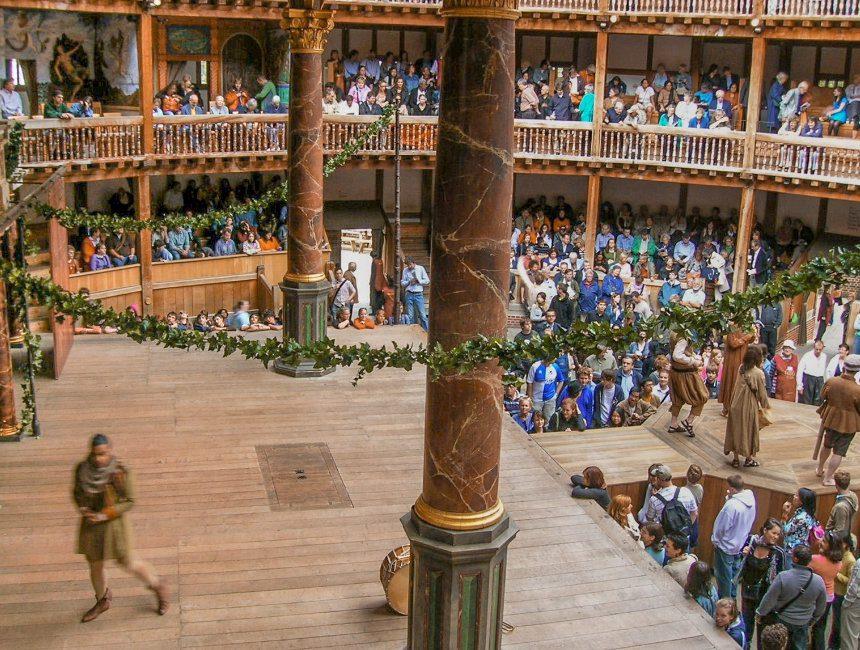 bezienswaardigheden Londen Shakespeare Globe Theater