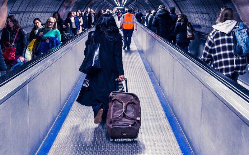 handbagage in het vliegtuig