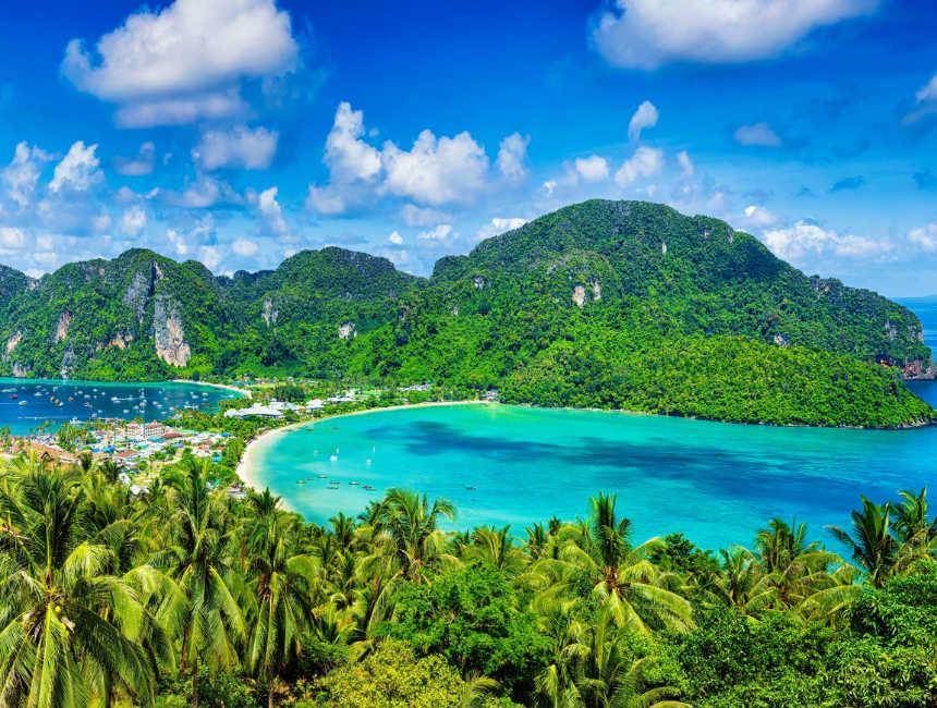 koh phi phi rondreis door thailand