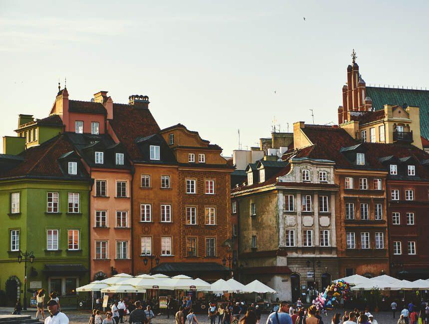 rondreis polen stare miasto warschau